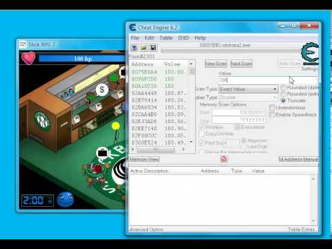 Stick rpg 2 how to use cheat engine 6 2 on stick rpg 2 short version
