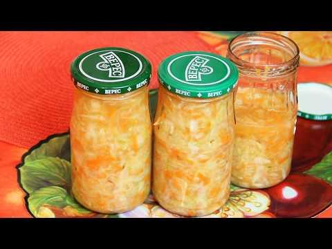 Рецепт вкусной квашеной капусты быстро