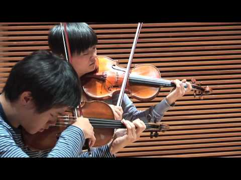 The Parker Quartet performs Béla Bartók's String Quartet No. 1 in A minor