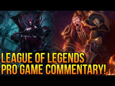 League of Legends  PRO GAME COMMENTARY #2 