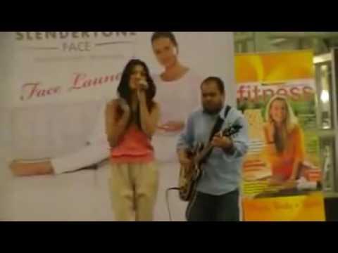 AIBI Road show Monita Tahalea Live Performance