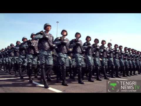 Самый масштабный парад в истории Казахстана прошел в Астане