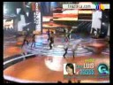 Luis Armando y Jackie cantan [video]