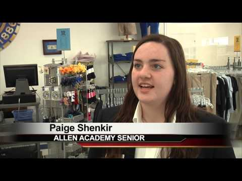 Allen Academy Opens A Store - Students Benefit