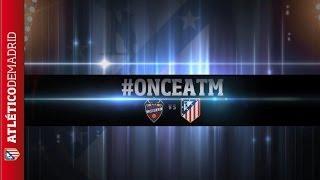 Liga 2013/14. Once del Atlético de Madrid para visitar al Levante #onceATM | LINE-UP