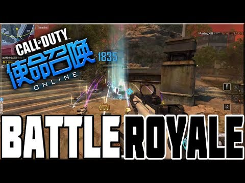 PLAYING CALL OF DUTY BATTLE ROYALE!
