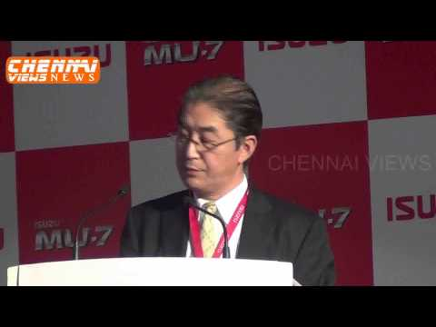 Isuzu Motors India Starts Local Production Rollsout first India Made MU 7