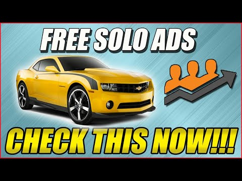 Free Solo Ads To Promote Clickbank Affiliate product guaranteed sales!!!