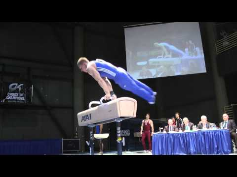 Steven Legendre - Pommel Horse - 2012 Winter Cup Finals