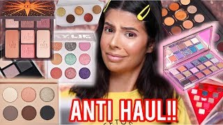 HUGE ANTI HAUL | MAKEUP I WILL NOT BE BUYING!