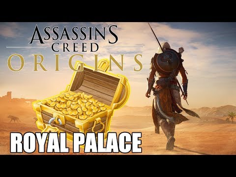 Royal Palace Loot Treasure Locations | Assassin's Creed Origins #1