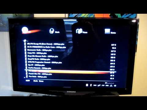 Xtreamer V2.0.2 HD media streamer review with Samsung LE37B652