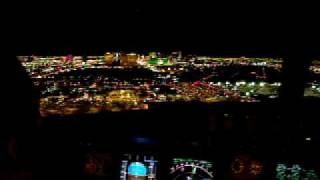AMAZING GO AROUND IN LAS  VEGAS..MEXICANA AIRLINES