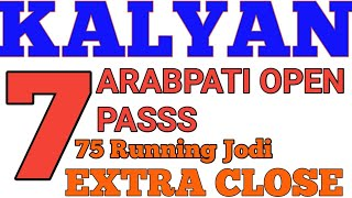 Kalyan 28/01/2019 TRICK POWERFUL Fix opne 777 pass Extra close Dekho strong