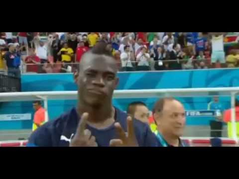 Mario Balotelli silences all/ FIFA WORLD CUP 2014