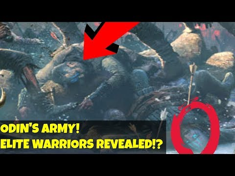 God of War 4 Theory- Odin's army! Warriors Explained! Gameinformer analysis Story Enemies! thumbnail
