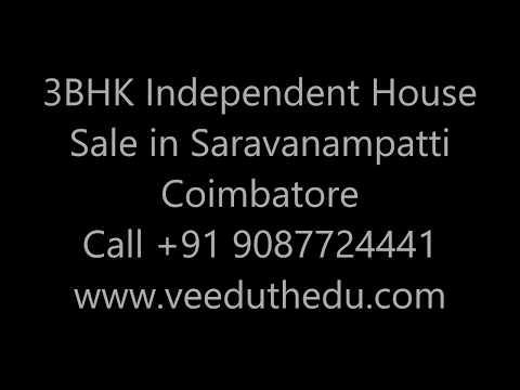 3 Bhk House Sale in Saravanampatti Coimbatore