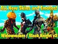 ALL *NEW* Fortnite Skins and Emotes COMING SOON! (Black Knight v2, Spider Skins + MORE!) thumbnail