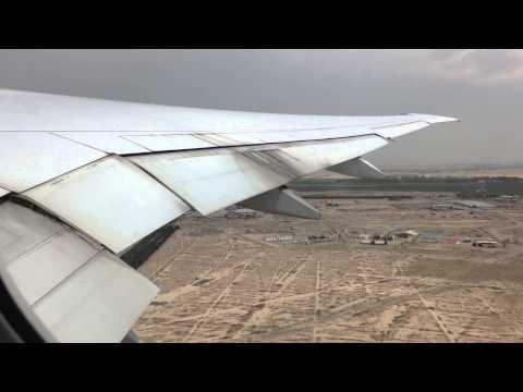 Emirates EK972 Tehran-Dubai Takeoff B777-300ER