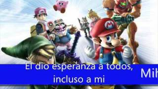 Letra Original en español  Super Smash Bros Brawl
