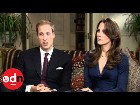 Prince William and Kate Middleton - Full interview
