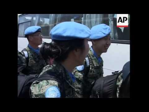 300 SKorean troops join UN peacekeepers overseeing ceasefire