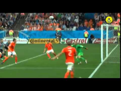 Highlights Match Review Netherlands vs Argentina Penalty (2-4) World Cup 2014