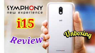 SYMPHONY i15 Unboxing & Review