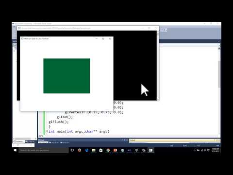 Opengl function orthographic projection examples in computer graphics tutorial