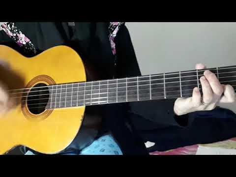Kunci gitar - lagu gaby tinggal kenangan (cover)