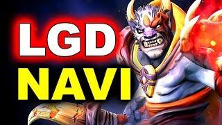 NAVI vs PSG.LGD - SEMI-FINAL - MEGAFON WINTER CLASH DOTA 2