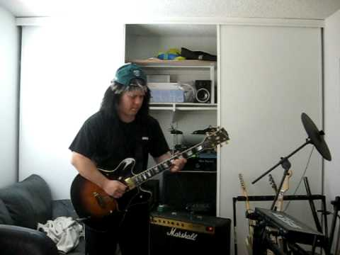 Steven Weiss: 1980 Gibson ES-347 Demo - Scotty Moore and ZZ top