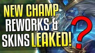 NEW CHAMP(Assassin), EVELYNN/URGOT REWORKS, SKINS LEAKED..AGAIN!?! | League of Legends