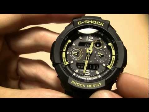 G Shock GW-3500B - The Aviator - The Pilot's G