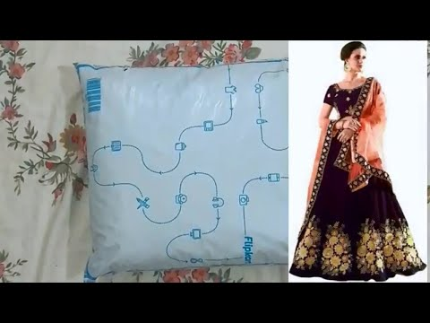 lehenga review and unboxing| Flipkart lehenga dress| new lehenga| latest party wear lehenga