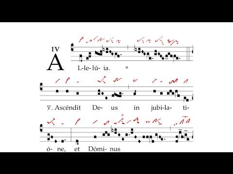 Gregorian Chant - Alleluia. Ascendit Deus