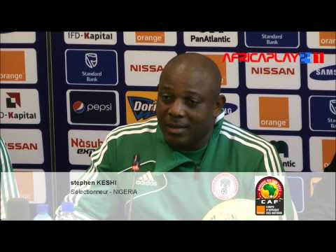 "Can 2013 - Stephen KESHI : ""Ethiopie - Nigeria, un match difficile"""