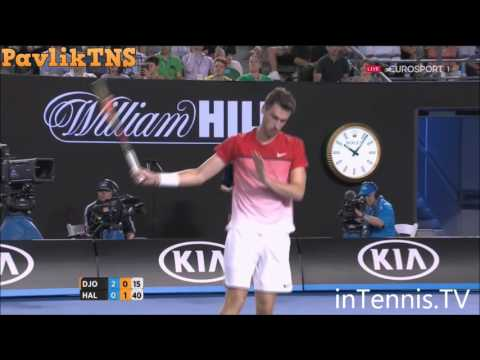 Novak Djokovic vs Quentin Halys Highlights ᴴᴰ Australian Open 2016