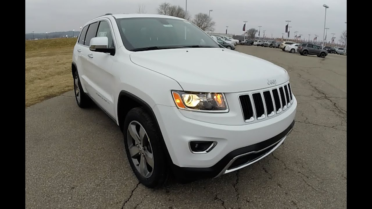jeep grand cherokee limited white 2015 images. Black Bedroom Furniture Sets. Home Design Ideas