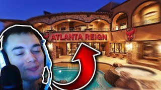 DAFRAN IS IN THE ATLANTA REIGN HOUSE AND IT'S INSANELY POG!