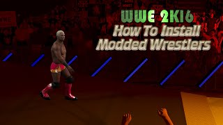 WWE 2K16 PC Mods - How To Install Modded/Custom Characters : Shelton Benjamin