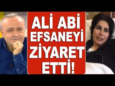 Ali Eyüboğlu, kanser tedavisi gören Nuray Hafiftaş'ı hastanede ziyaret etti