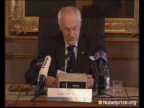 The 2007 Nobel Prize in Chemistry goes to ...
