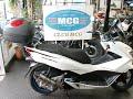 ホンダ PCX150 ロングスクリーン カスタムグリップ ビームスマフラー リアボックス バイク買取MCG福岡