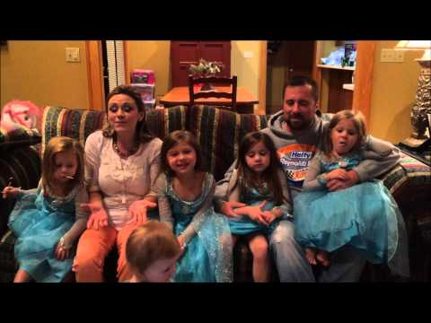 Eric McClure & Family (Let it Go) Frozen parody on 2015 addition