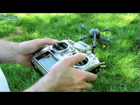 Bumblebee High-Tech Quadrocopter / Quadcopter - www.multicopter-shop.de