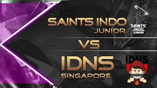 Saints indo Junior Vs IDNS Singapore BIG MATCH