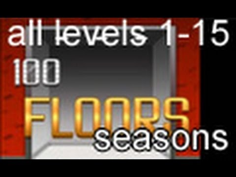 100 Floors Seasons Halloween Levels 1 15 Youtube