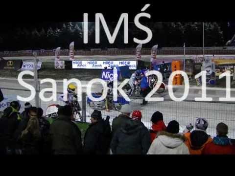 żużel Na Lodzie -  Sanok 2011 - Sven Holstein - Upadek