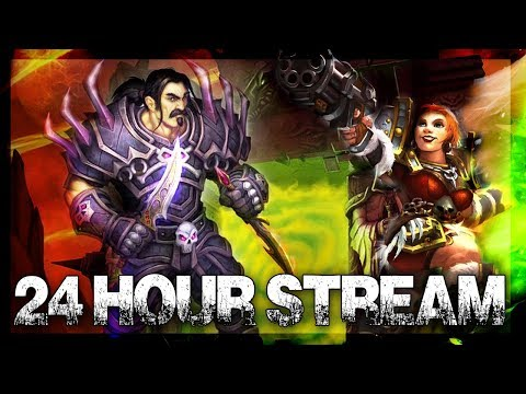 Outland TBC!! 24 Hour Stream! World of Warcraft